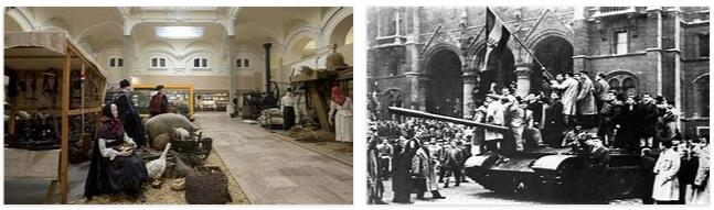 """Hungary History: """"People's Democracy"""" and Communist Rule (1945–1989)"""