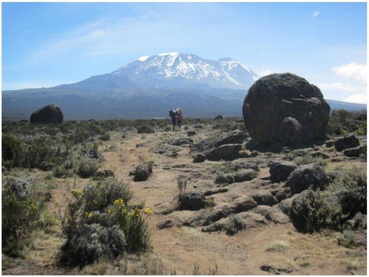 Kilimanjaro from Day 2
