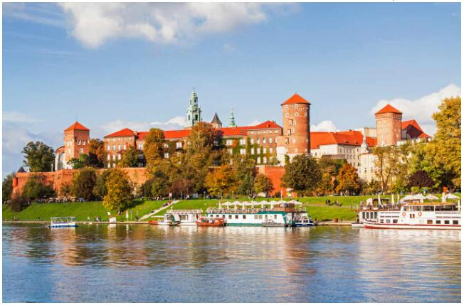 Wawel Hill is one of Krakow's most interesting sights